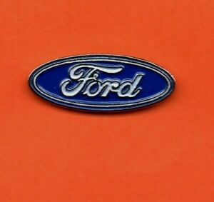 Pin-039-s-lapel-pin-pins-Car-Voiture-Marque-Logo-FORD-EAF-base-argente