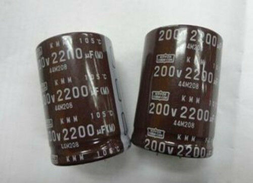 1 PCS New 200V 2200UF 35mm×50mm Radial Electrolytic Capacitor