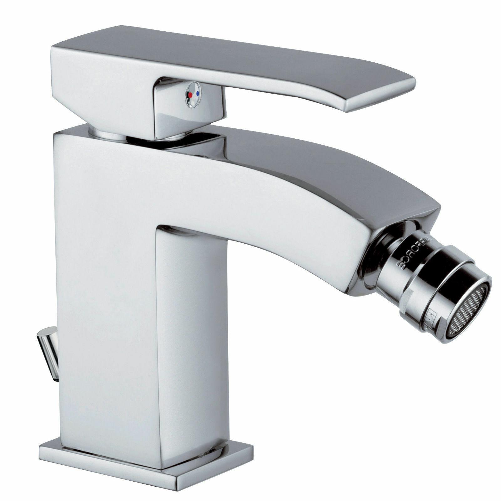 Miscelatore bidet Level Paffoni rubinetti design quadrato qualita' Made in