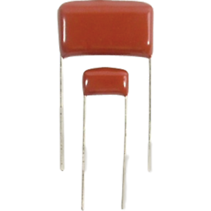 630V Package of 10 Capacitor Polypropylene radial leads Capacitance: .1 uF
