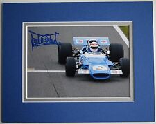 Jackie Stewart Signed Autograph 10x8 photo display Formula One F1 AFTAL COA