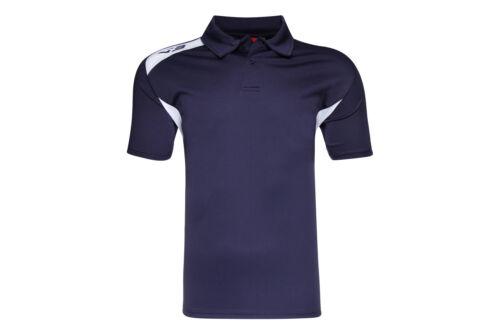 VX-3 Mens Team Tech Polo Shirt Top Sports Training Workout