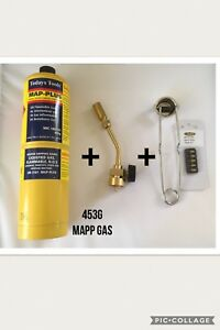 Profire-USA-Torch-c-w-Map-Plus-Gas-Lighter-amp-Spare-Flints-90-917