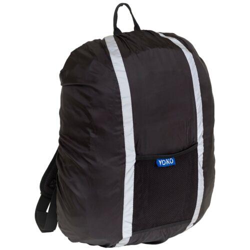 YOKO YK152 Backpack Cover Hi Vis Waterproof Safety Reflective Rucksack Cover