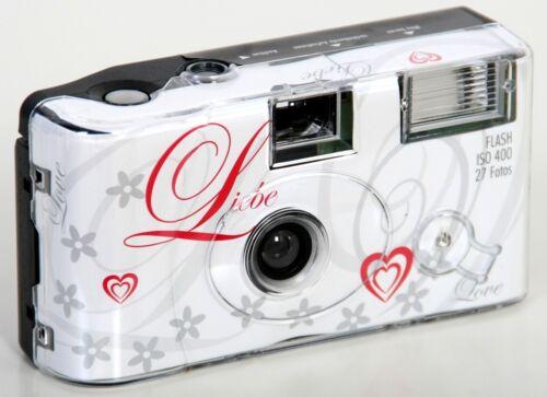 boda 27 grabaciones relámpago 20x alto tiempo cámara una cámara desechable amor Love