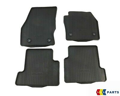 NEW GENUINE FORD KUGA MK2 FRONT AND REAR BLACK RUBBER ...