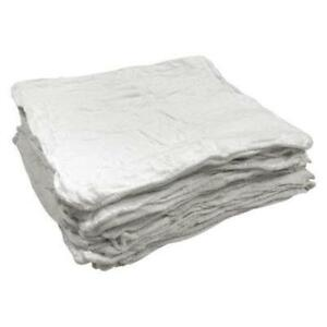 2500 PACK HEAVY WEIGHT JUMBO RED SHOP TOWELS CLEANING RAGS 14X14