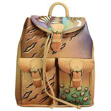 273f2cf9f9fd5 Greenland Nature Art Craft SHOPPER Bag Leather 34 Cm Bunt 8110-03