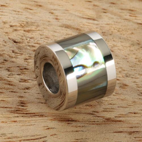 Canon Acier Inoxydable Incrusté Ormeau 10 mm Pendentif