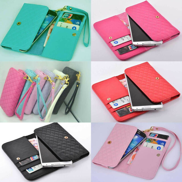 For VODAFONE OYSTERS GINZZU Cover Case mobile phone DELUXE Wallet Card Holder