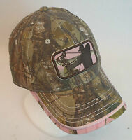 Ladies Major League Bowhunter Realtree Xtra Camo Deer Hunting Cap/hat Mlbh-007