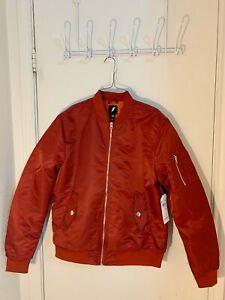 Classic-Bomber-Jacket-MA-1-Flight-Red