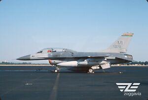 ORIGINALE-SLIDE-78-0079-LOCKHEED-F-16-U-S-Air-Force-United-States-Air-Force-1993