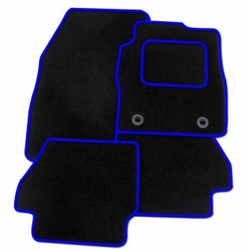 MAZDA 6 2008-2013 TAILORED CAR FLOOR MATS CARPET BLACK BLUE RED RUBBER