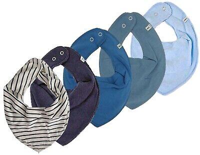 Baby Halstücher 5er Set ♦ Pippi 4 Stück Organic Cotton 1 GRATIS Tuch ♦ Neu