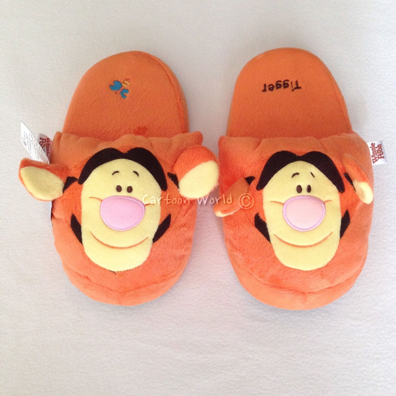 NWT Disney Shoes Winnie the Pooh Tigger Slippers Shoes Disney Size US 6-10, 1813c2