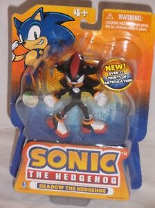 Toysrus Exclusive Jazwares Sonic Hedgehog Poseable Action Figure Shadow Sega Htf Ebay