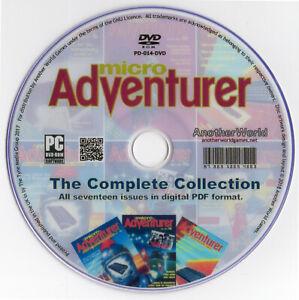 MICRO-ADVENTURER-MAGAZINE-Full-Run-Disk-Oric-Spectrum-Dragon-32-Apple-II-Games
