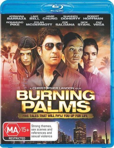 1 of 1 - BURNING PALMS...BLU RAY...NEW & SEALED   dvd324