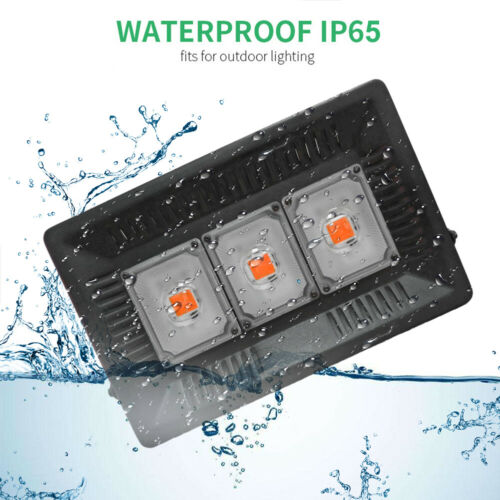 Waterproof 200//400//600W LED Plant Grow 380-800nm Full Spectrum Flood Light EH