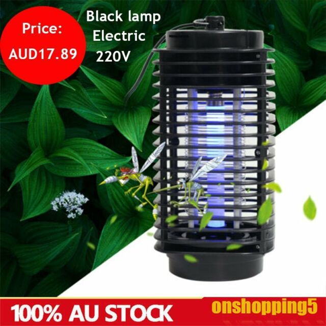 Electric Bulb Insect Killer Mosquito Trap UV-A Light Fly Bug Zapper Catcher ZY
