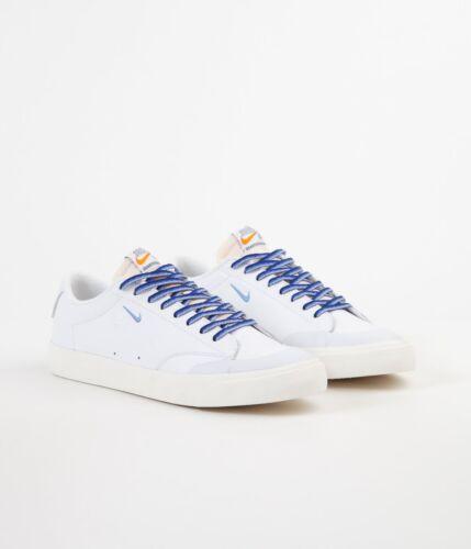 Nike SB Shoes Blazer Low XT QS Quartersnacks White University Skateboard Sneaker