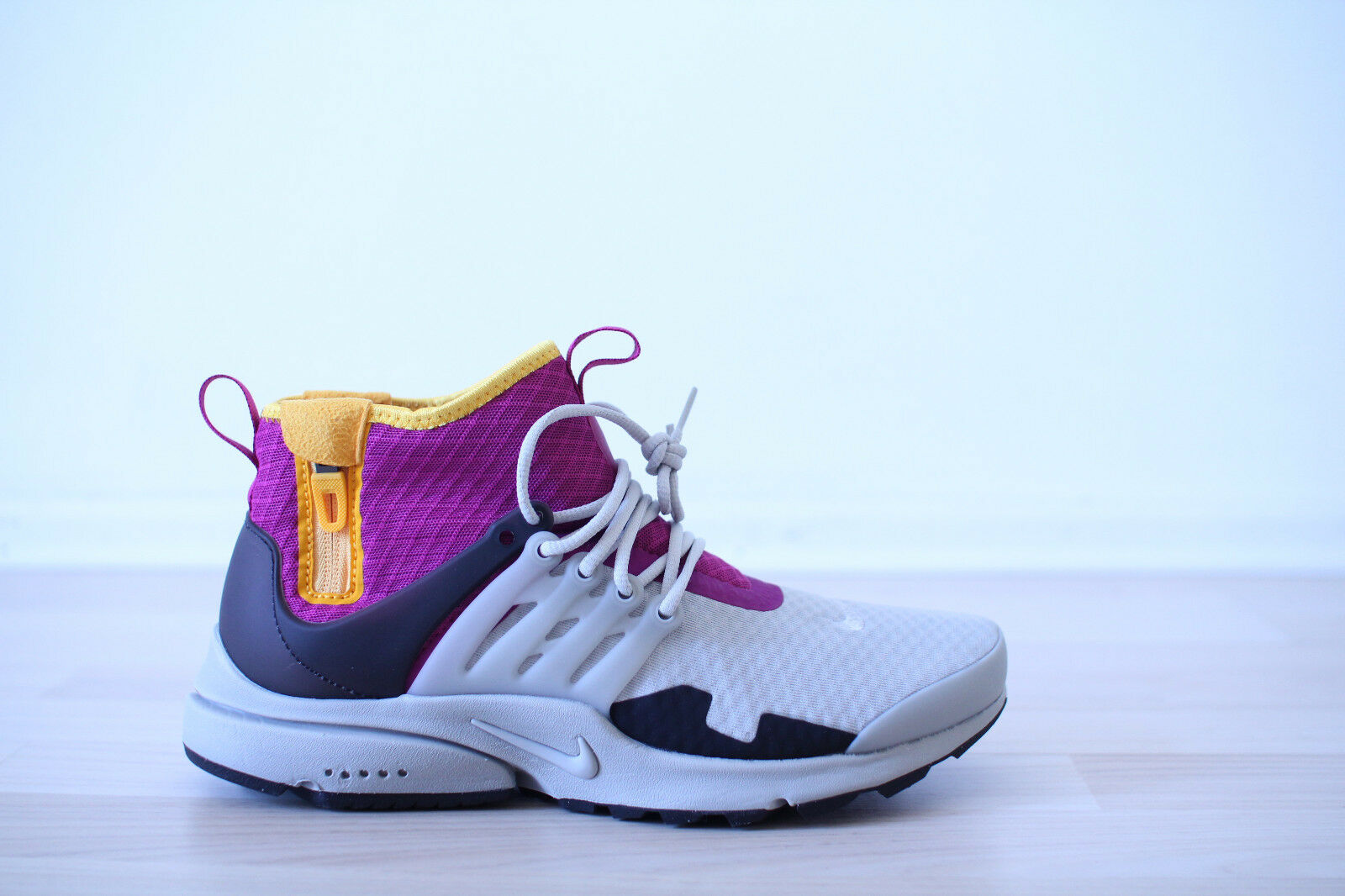 Nike Air Presto Mid SP Grau Gr. 40 UK 6 NEU & OVP