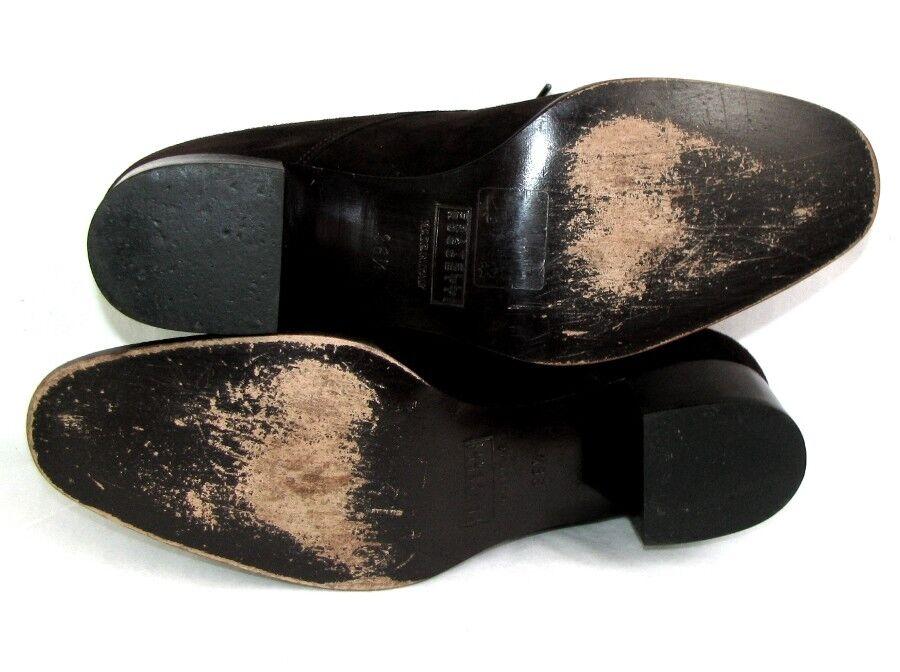 FRATELLI ROSSETTI ROSSETTI ROSSETTI - Derbies cuir velours marron 36.5 Italien - EXCELLENT ETAT d24bcc