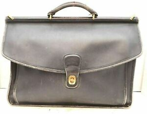 Vtg Laptop Black Coach Bag Beekman Briefcase 5266 Leather Messenger  Portfolio BqdZ8qw b98a3665e1009
