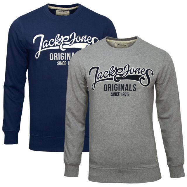 JACK & JONES CLASSIC CREW NECK SWEAT Gr.S,M,L,XL,XXL REG FIT