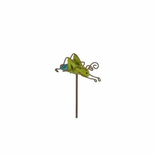 Buy 3 Save $5 Miniature Fairy Garden Grasshopper Pick