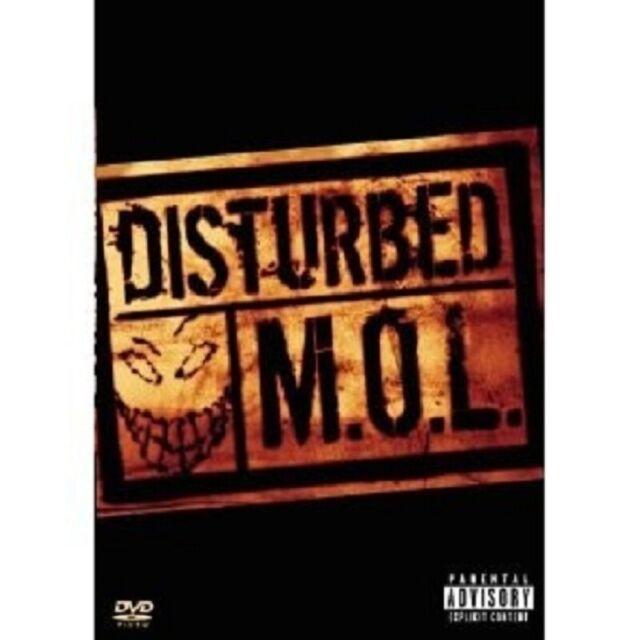 DISTURBED - M.O.L  DVD POP MUSIC VIDEO 39 TRACKS NEU