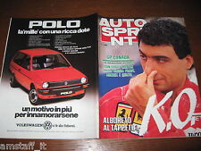 AUTOSPRINT 1984/25=GP F1 CANADA=ALBORETO KO=RALLY ELBA=