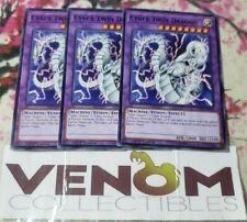 LEDD-ENB26-1st Edition YuGiOh NEW 3 x CYBER TWIN DRAGON