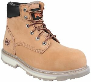 Timberland-Pro-Traditional-Water-Resistant-Safety-Mens-Wheat-Work-Boots-UK6-12