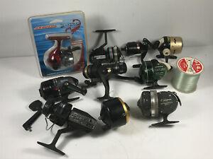 Lot-x12-Fishing-Reels-bronson-berkley-shakespeare-johnson-century-daiwa-swift