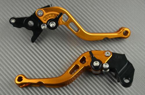 Kurz Hebel Paar Bremshebel Kupplungshebel Orange CNC YAMAHA TDM 900 2004-2015