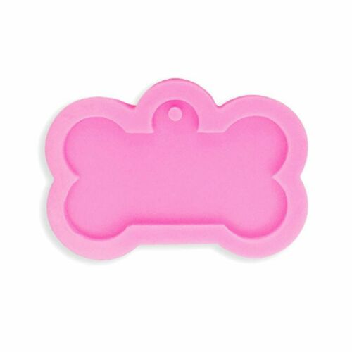 Dog Bone Shape Silicone Mold For Keychain Pendant DIY Jewelry Making Resin Mould