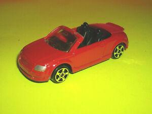 MAISTO BRIGHT RED AUDI TT ROADSTER - 1/64 SCALE DIECAST ...