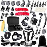 Gopro Hero 5 Accessories Bundle Kit Sports Camera Strap Mount Action Cam Selfie