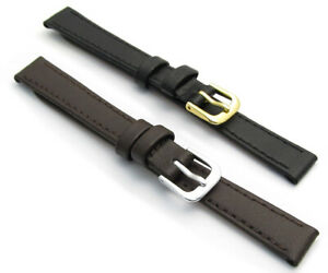 CONDOR-Flat-Calf-Leather-Watch-Strap-123R-8mm-10mm-12mm-14mm-Free-Pins