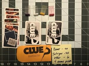 CLUEDO DISCOVER THE SECRETS 2008 GAME SPARES REPLACEMENTS CHOOSE YOUR PIECE