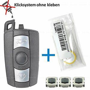 BMW-Schluessel-Gehaeuse-Repair-Akku-Funk-Fernbedienung-E90-E91-E92-E84-E60-E61-E70
