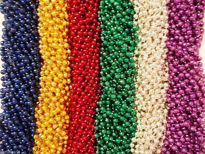 3000 Asst Round Mardi Gras Gra Beads Necklaces Party Favors Huge Lot