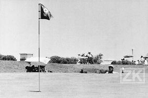 HASSAN-II-Roi-Maroc-GOLF-Skhirat-Sport-Politique-Photojournalisme-1972