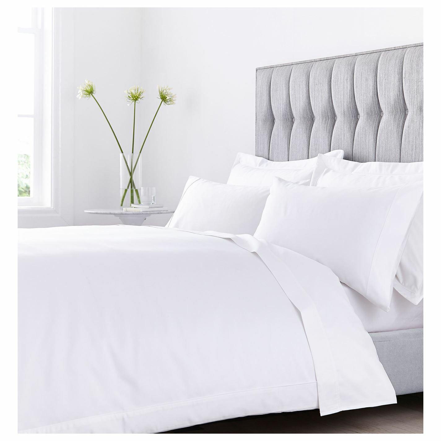 Hotel Collection 800TC Cream Duvet Startseite Unisex Startseites Cotton