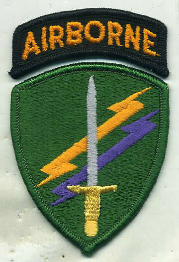 US Army Special Operations Command Airborne Color Patch