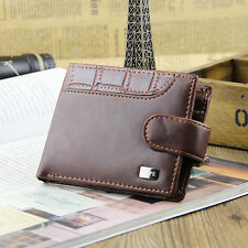 Mens  Real Leather Wallet By Skype New Brown  With Coin Pouch