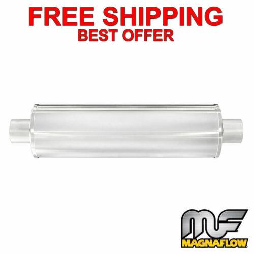 "3/"" C//C 24/"" Body 3 Chamber Stainless Steel 7/"" Muffler 13742 MagnaFlow XL"