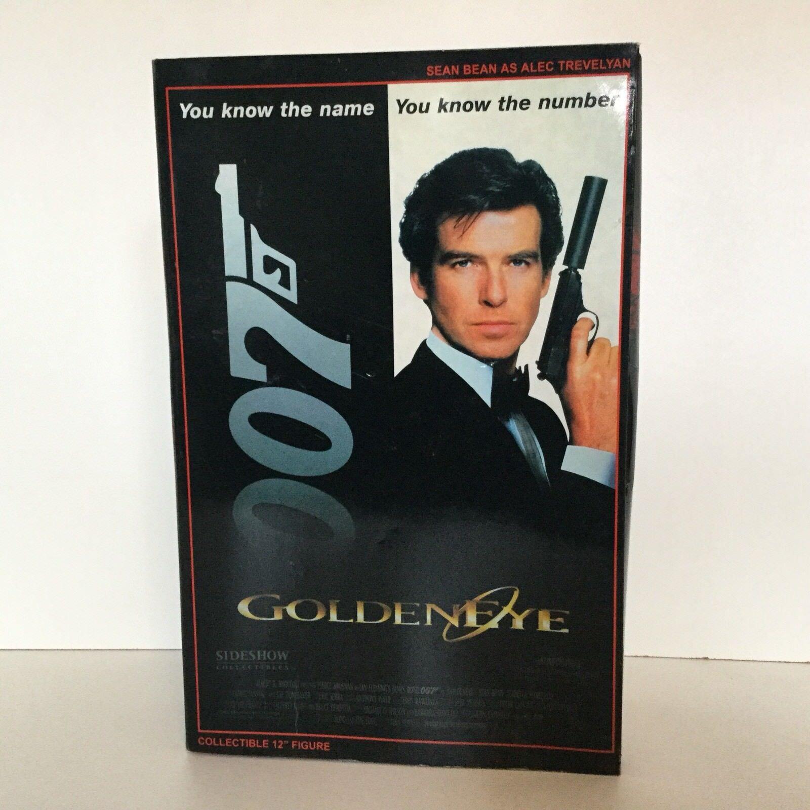 calidad fantástica Sideshow James Bond 007 oroeneye Sean Bean Alec Trevelyan 12 12 12 acción figura CIB  respuestas rápidas